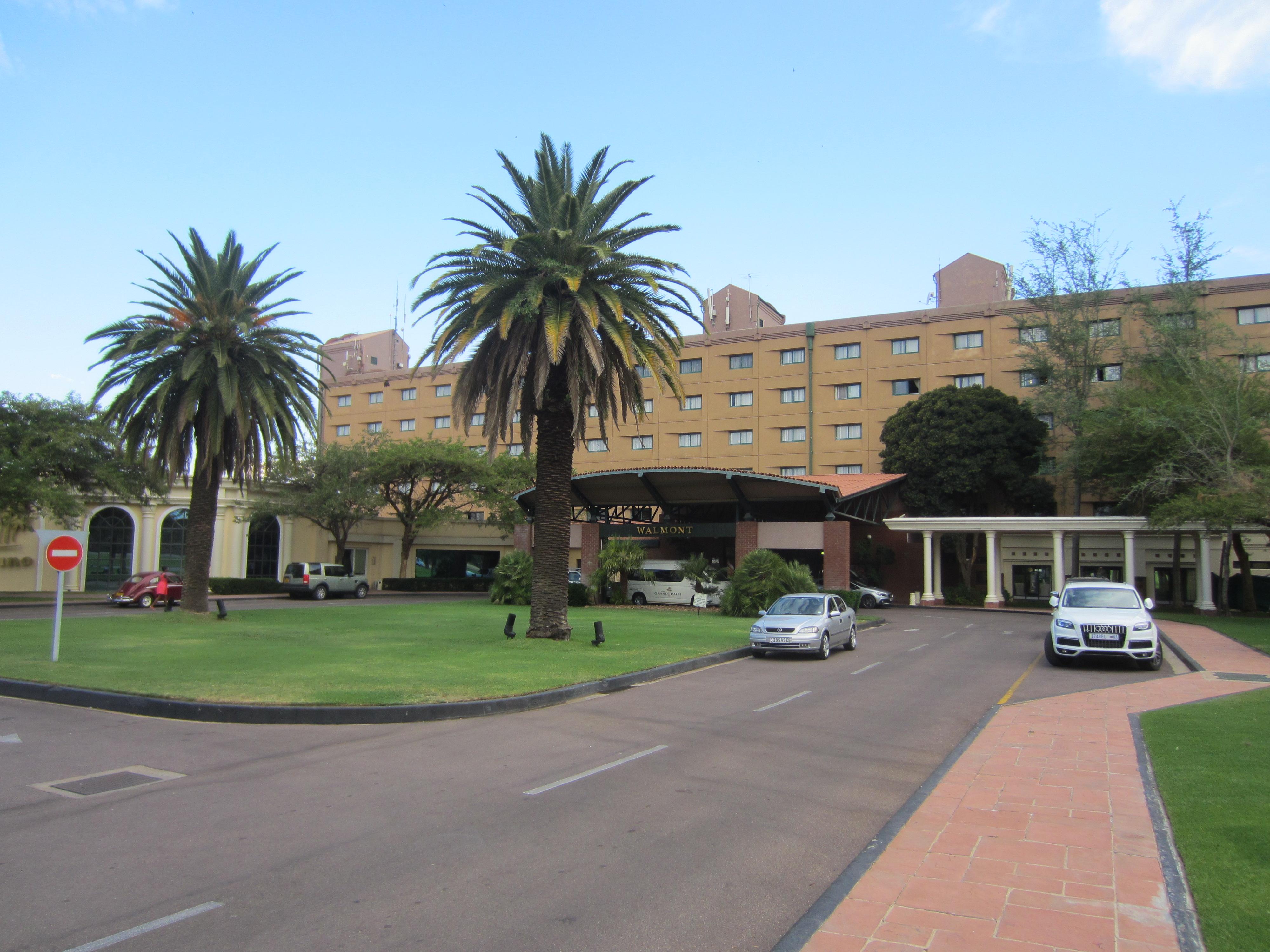 gaborone grand palm hotel casino resort: